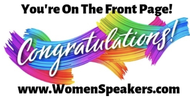 Woman Speakers Banner